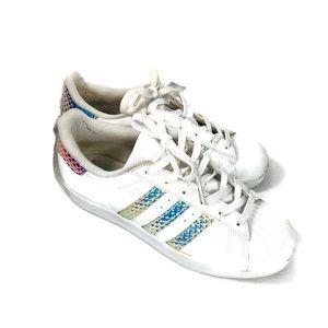 Adidas Girls Superstar Iridescent Diamond sneakers